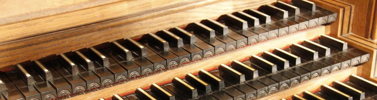 Clavier de l'orgue